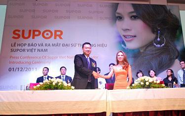 Mỹ Tâm trở thành đại sứ thương hiệu của Supor tại Việt Nam