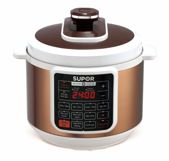 Electric Pressure Cooker Healthy Supor CYSB50YC10DVN-100