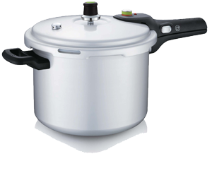 Safety Soft-anodized Pressure Cooker